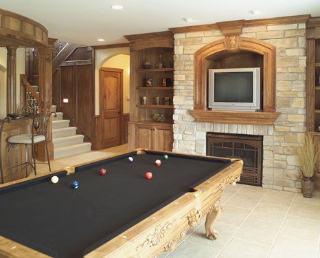 1000+ Images About Pool Table Rooms On Pinterest | Rec Rooms, Pool