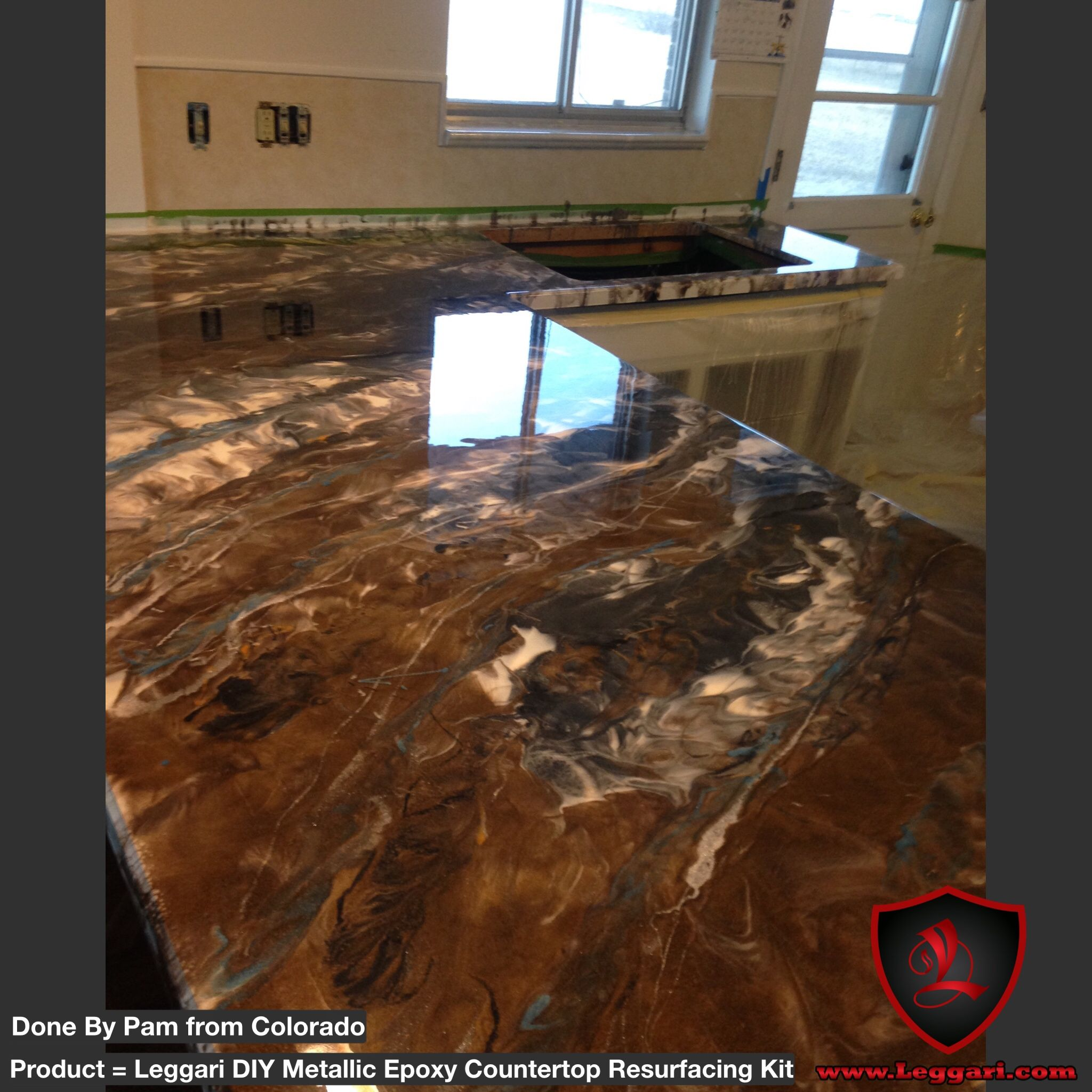 Countertop Epoxy Com First Time User Of Our Products Just To Give You An Idea