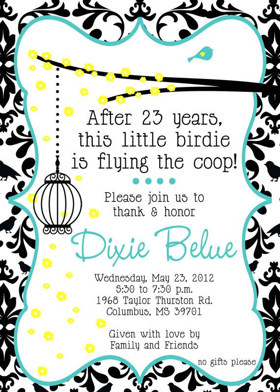5x7 Custom Retirement Party Invitation JPEG by PLGraphicDesign - retirement party flyer template