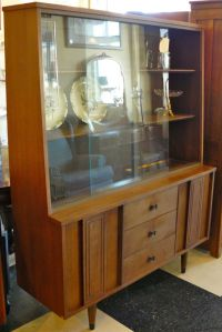 Mid-Century Modern China Cabinet by Stanley Furniture ...