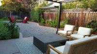 Grassless backyard | Low maintenance affordable landscapes ...