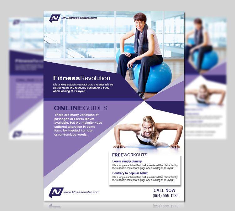 fitness flyer - Google 搜尋 inspire Fitness Pinterest Flyers - fitness flyer