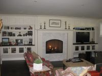 Raised hearth or floor level for LR fireplace? | Fireplace ...
