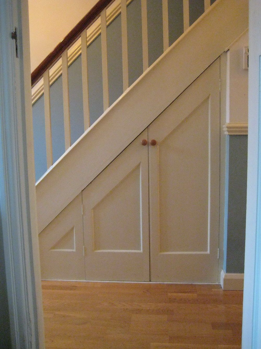 Stairway Door Under Stairs Closet Door | Under Stair Storage | Pinterest