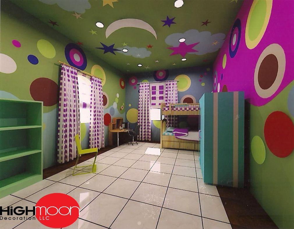Kids bedroom ceiling decoration - Kids Bedroom Ceiling Decoration 15