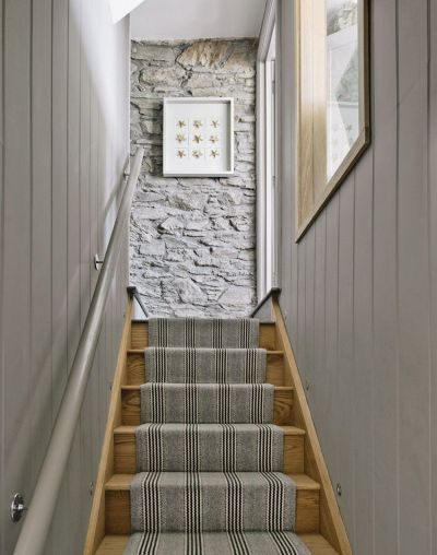 Décor for our Hallway Wall   Wood panel walls, Panel walls and Staircases