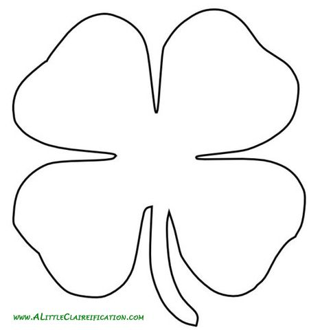 St Patricku0027s Day Crafts How To Make An Easy Throw Pillow How - shamrock template