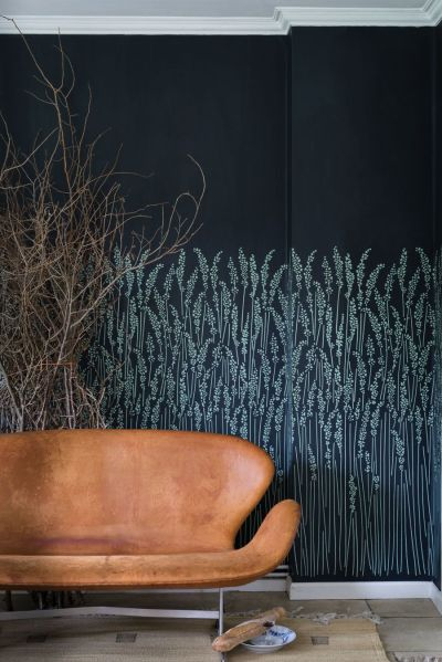 Feather Grass wallpaper by Farrow and Ball | beautiful spaces | Pinterest | Grasses and Farrow ball