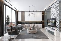 Ultra Luxury Apartment Design | Living Room Designs ...