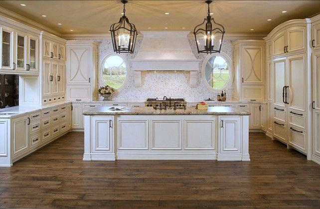 White French Kitchen Design #White #French #Kitchen Kitchens - french kitchen design
