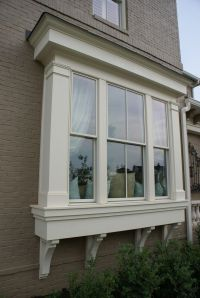 Window Bump Out House Exterior Pinterest Window, Bay ...