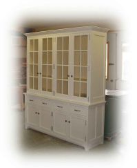 white buffet cabinet | White buffet & hutch | My home ...