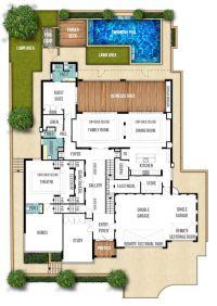 Split Level House Plans   Floor plans   Pinterest   House ...