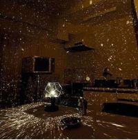 Rotating Star Night Light Lamp Projector Cosmos DIY