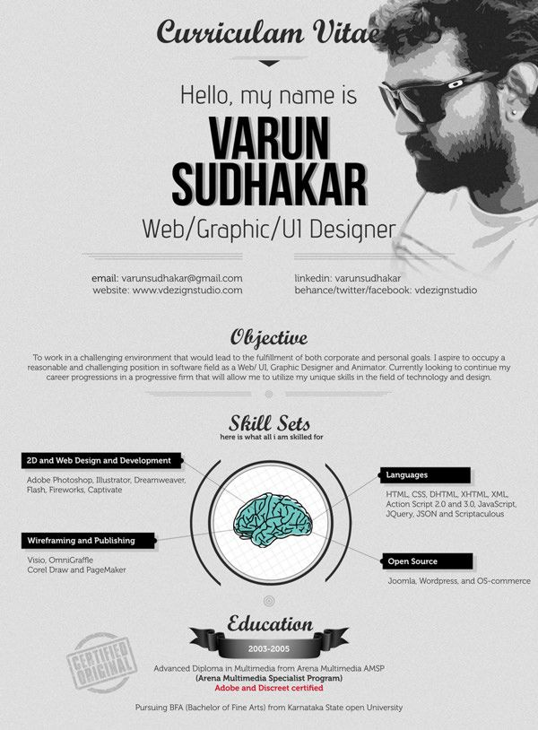 30 Outstanding Resume Designs You Wish You Thought Of Resumes - graphic designers resume