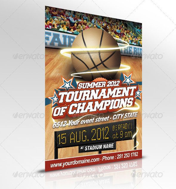 basketball templates 28 Best Sport Flyer Templates Graphic - basketball flyer example