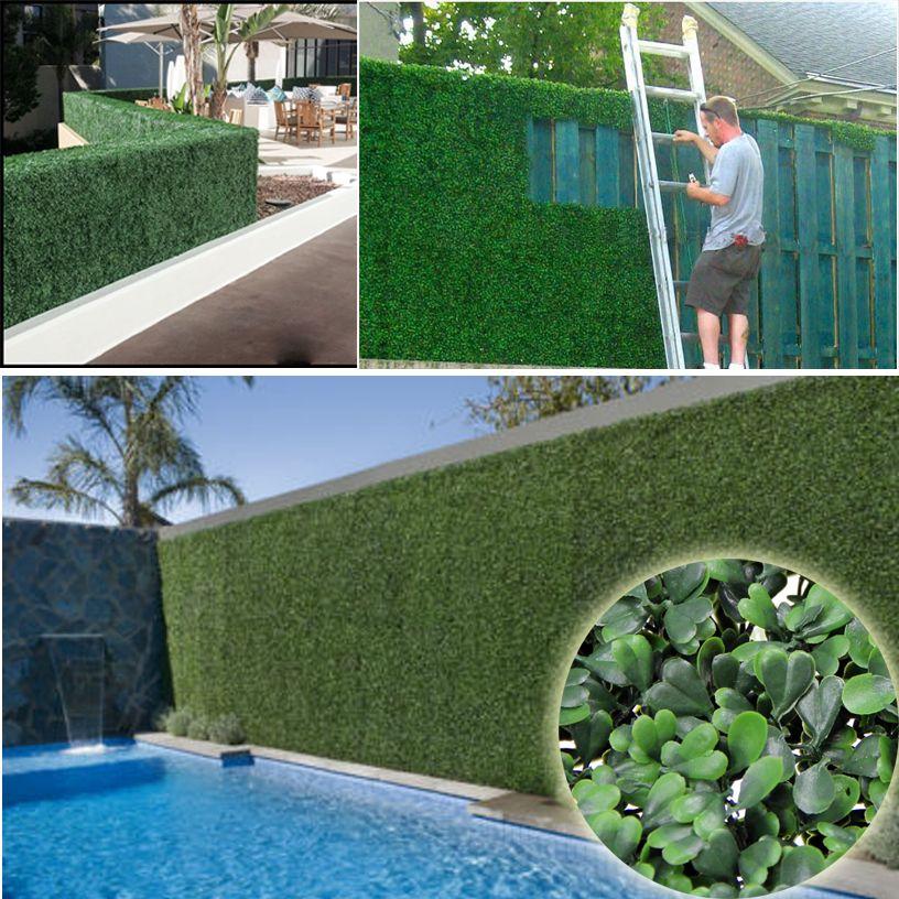 Aliexpress.com : Buy artificial ivy fence boxwood leaf