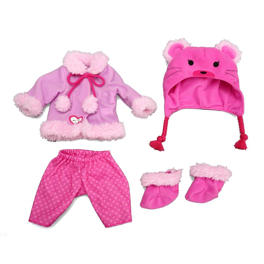 Baby alive one size fits all outfit bear coat funrise toys r