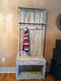 entryway coat rack for small spaces. #reclaimed # ...