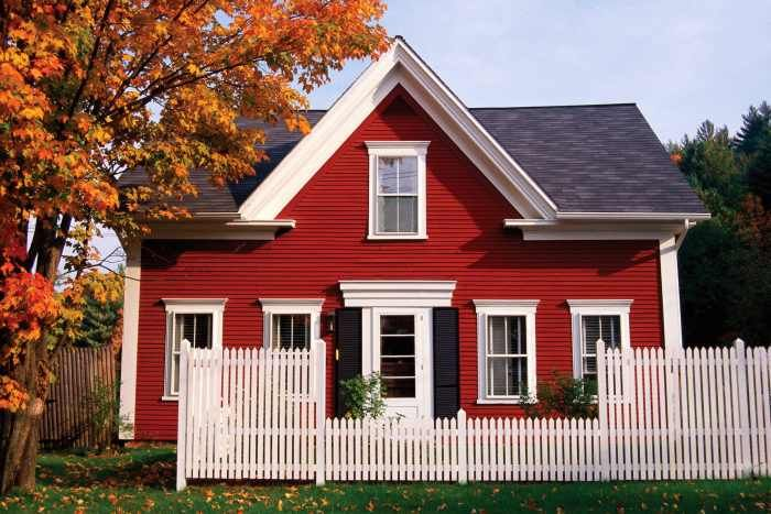 10 Best Images About Red Houses On Pinterest | Exterior Paint