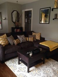 grey brown yellow living rooms - Google Search | Living ...