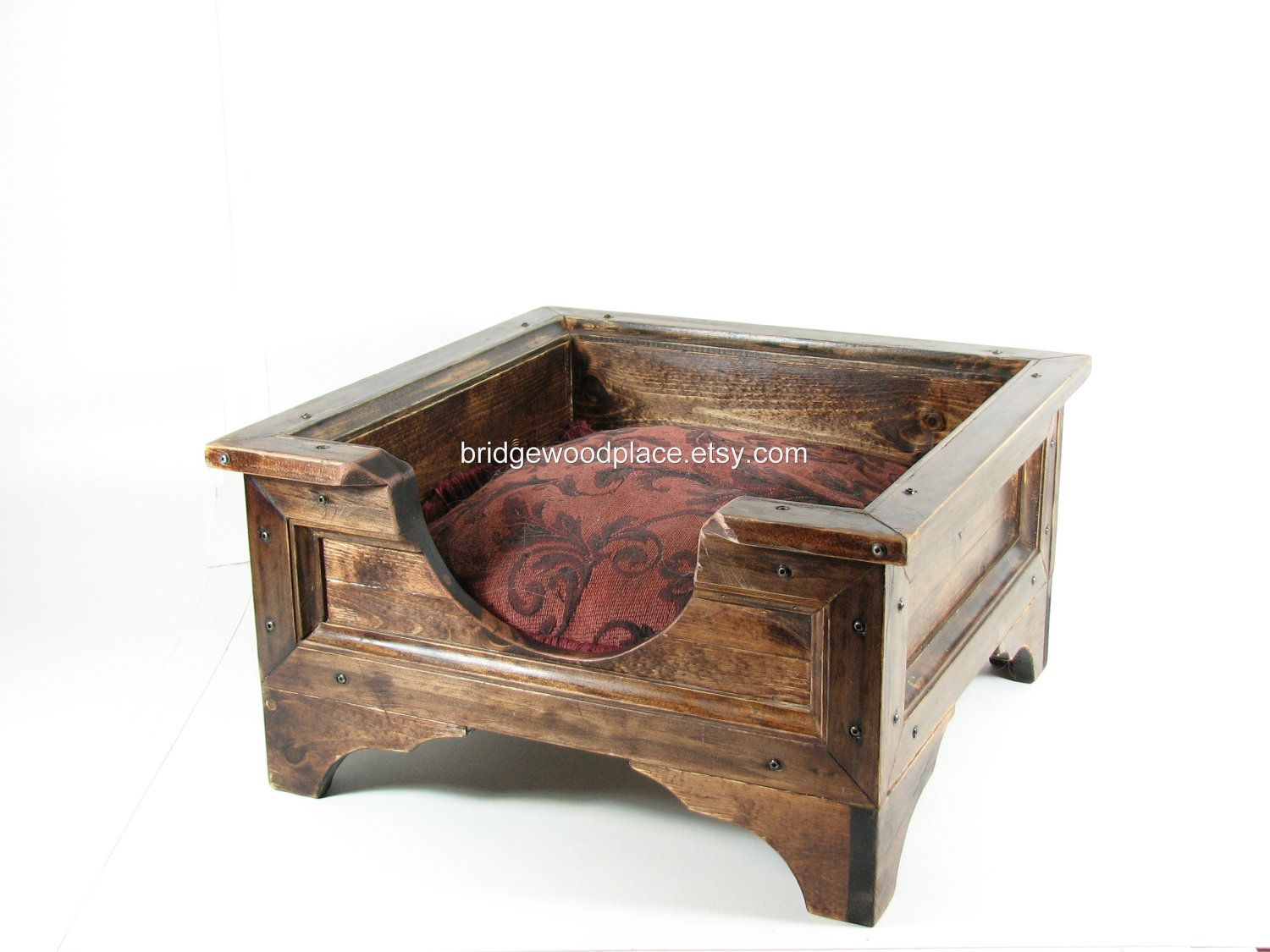 Cat Beds And Furniture Pet Bed Furniture Cat Bed Small Dog Bed Wood Crate Wooden