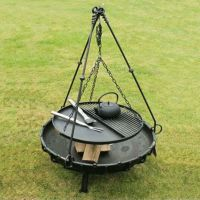 Tripod Cooking Rack | Cooking stand, Tripod and Barbecues