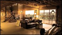 20 Cool Living Spaces Inside Of Garages | Living rooms ...