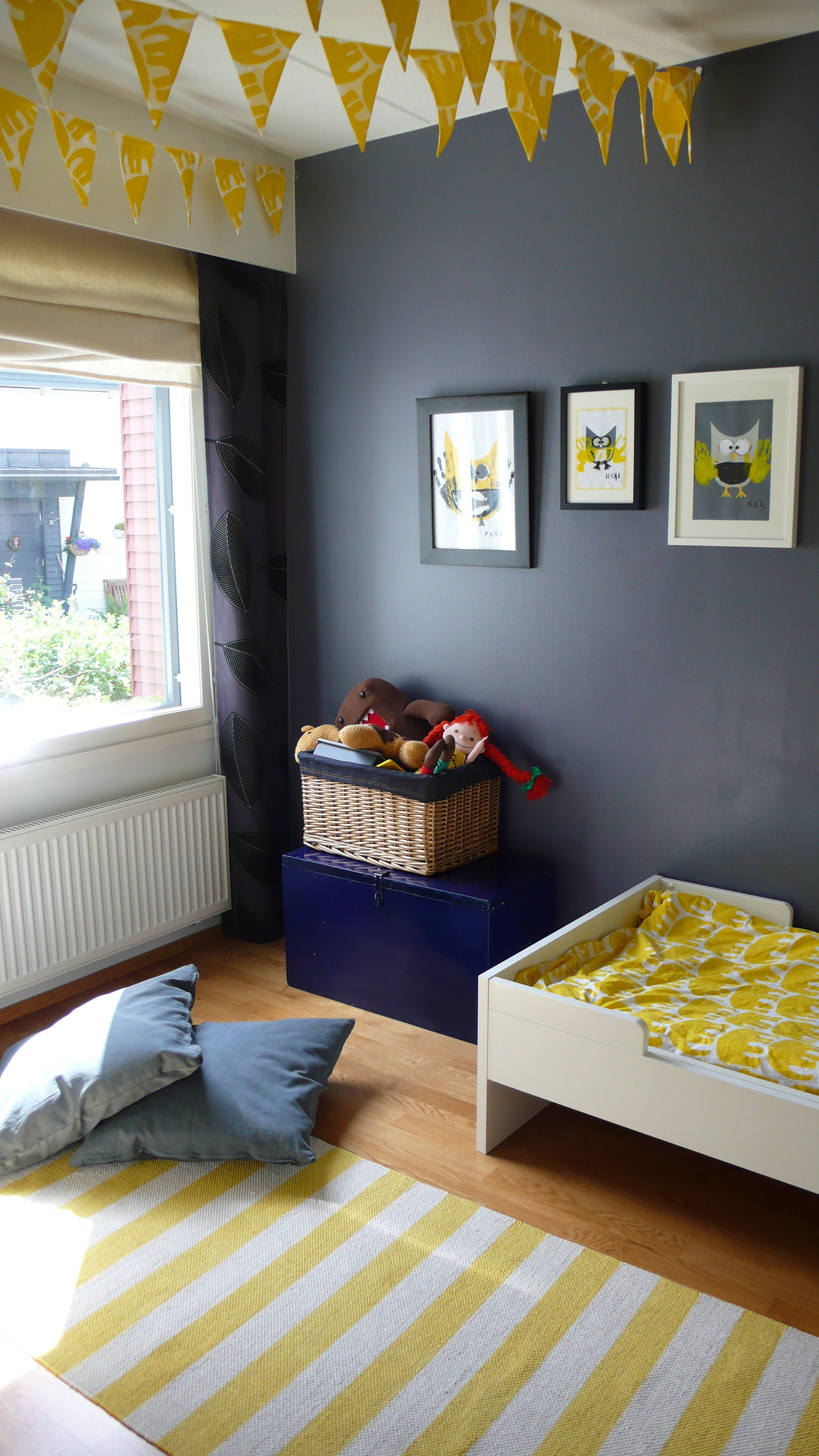 Gray And Yellow Room Yellow And Grey Kids Room Ihan Itte Pinterest Grey