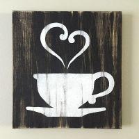 Kitchen Decor - Coffee Decor - Tea Decor - Coffee Cup ...