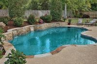 pools with retaining wall with waterfall | 131 Photos from ...