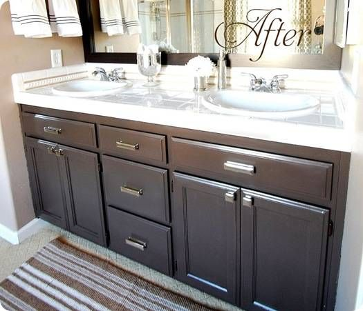 Redo Bathroom Vanities on Pinterest