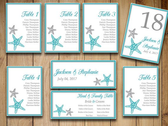 Free Printable Wedding Reception Templates The Budget Savvy - number chart template