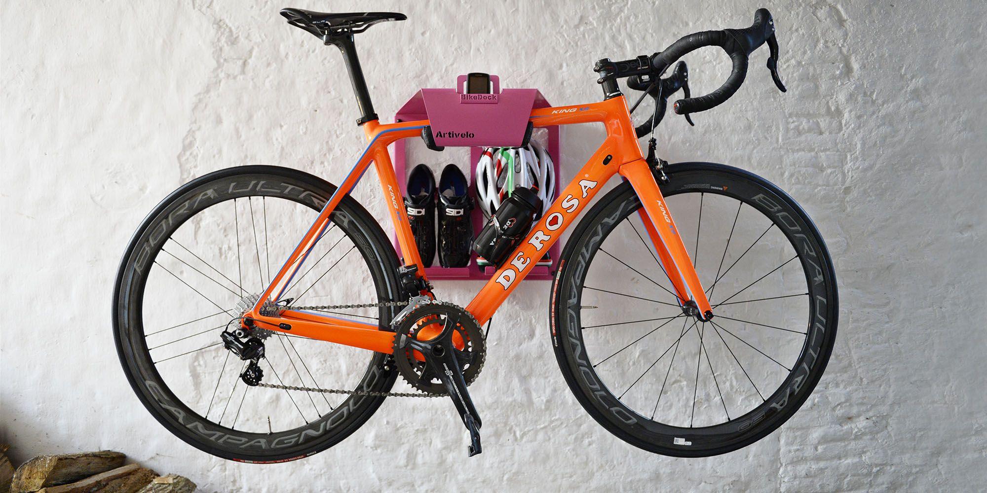 Artivelo Bikedock Rosa Looking Bike Wall Mount Bike Rack