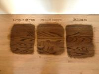 Antique Brown, Medium Brown, Jacobean Wood Stain | Fabric ...