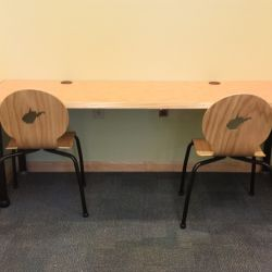 Childrens Computer Tables With Tmc Lorca Chairs Custom Cutouts Of