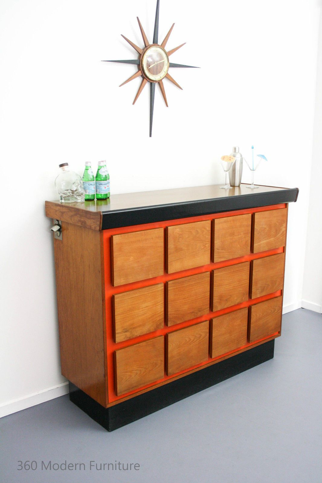 Vintage Sideboard Drinks Cabinet Mid Century Sideboard Cocktail Bar Cabinet Macrob Vintage