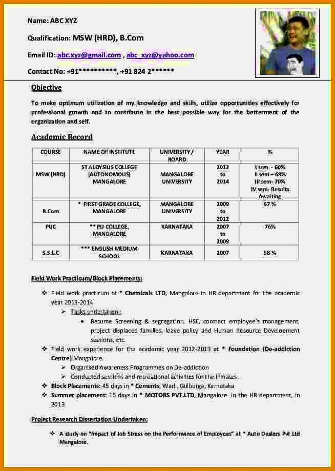 Audition Resume Format] Acting Resume Template Daily Actor, 10 ...