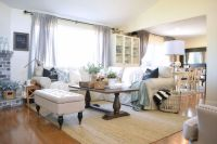 cozy and comfy pottery barn like sectional in family room ...