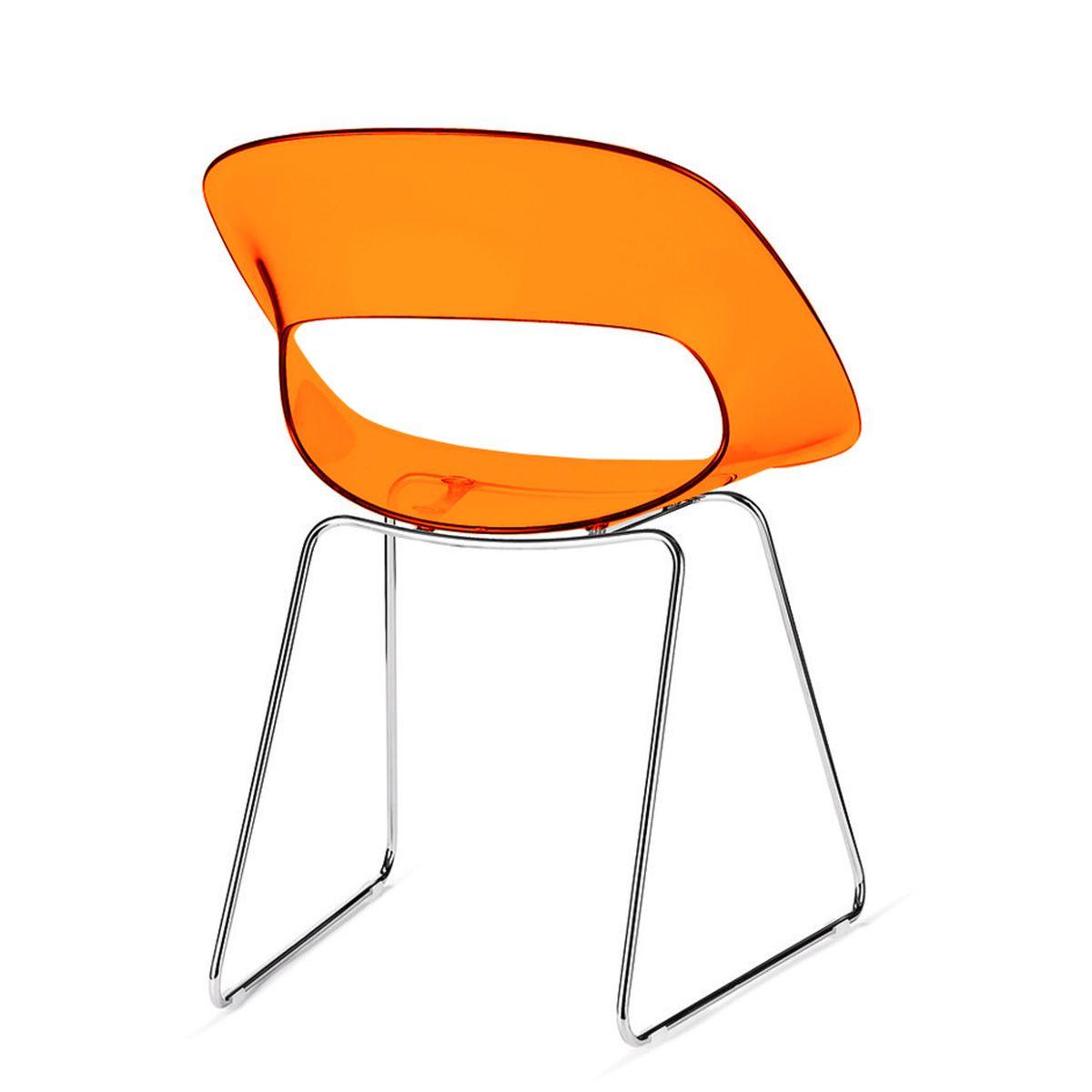 Sedie In Plastica Trasparente | Sedia In Plastica Trasparente Titi 39
