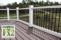 Porch and Deck Railing Vinyl  Composite  Aluminum