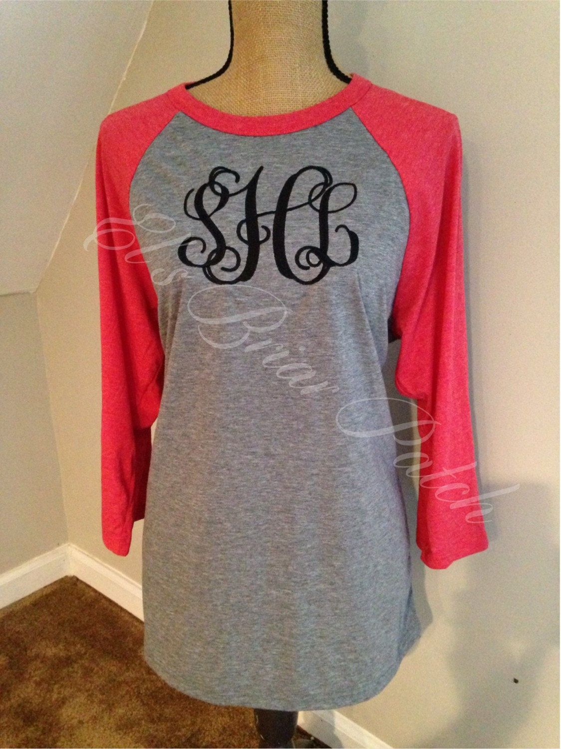 monogrammed pocket tee shirts