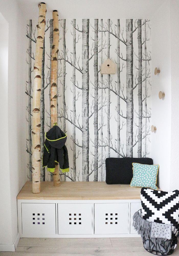 DIY \ Interior Dani von Gingered Things zeigt ihre neue Garderobe - garderoben ideen