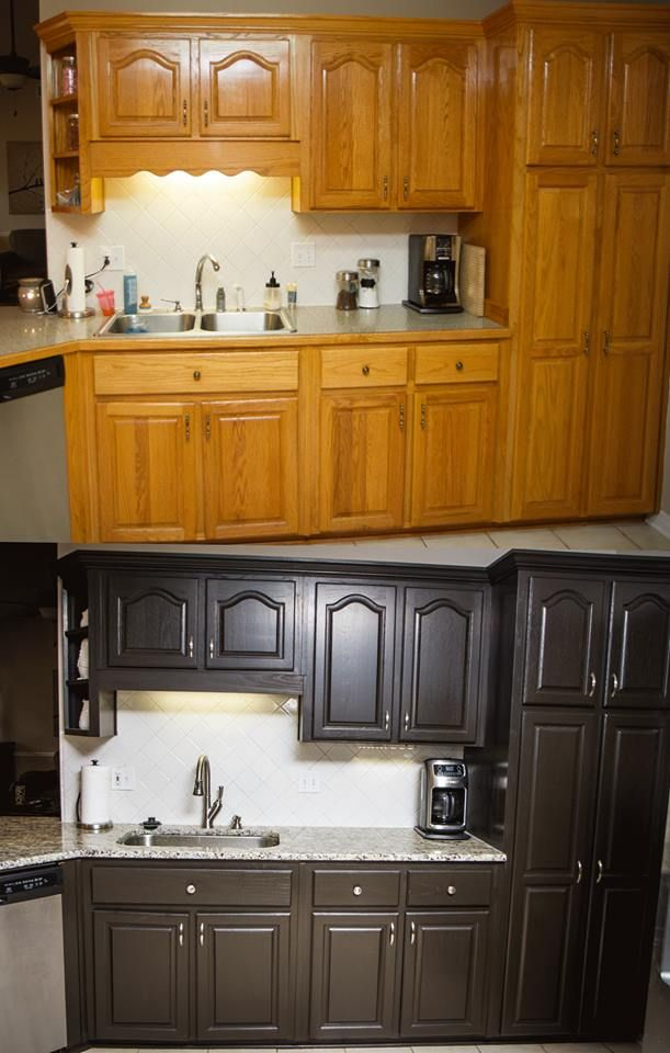 Diy Professional Looking Painted Cabinets For Under 100