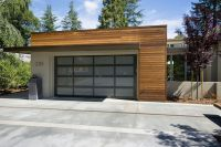 Mid Century Modern Garage Doors Garage and Shed ...
