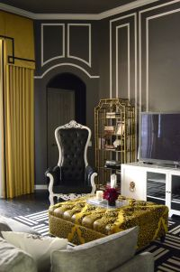 hollywood regency interior design - Google Search ...