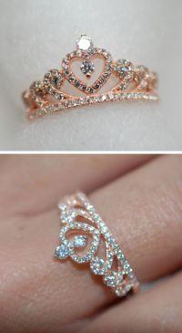 Engagement Rings 2017  Princess crown ring Engagement ...