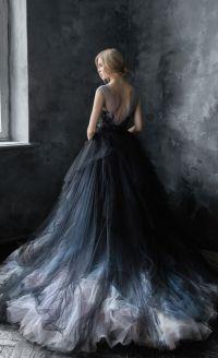Silver Black Wedding Dresses - Wedding Dresses Asian