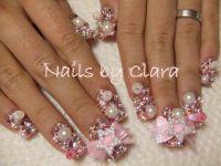 crazy+nail+images | Crazy acrylic nail designs | NAILS ...