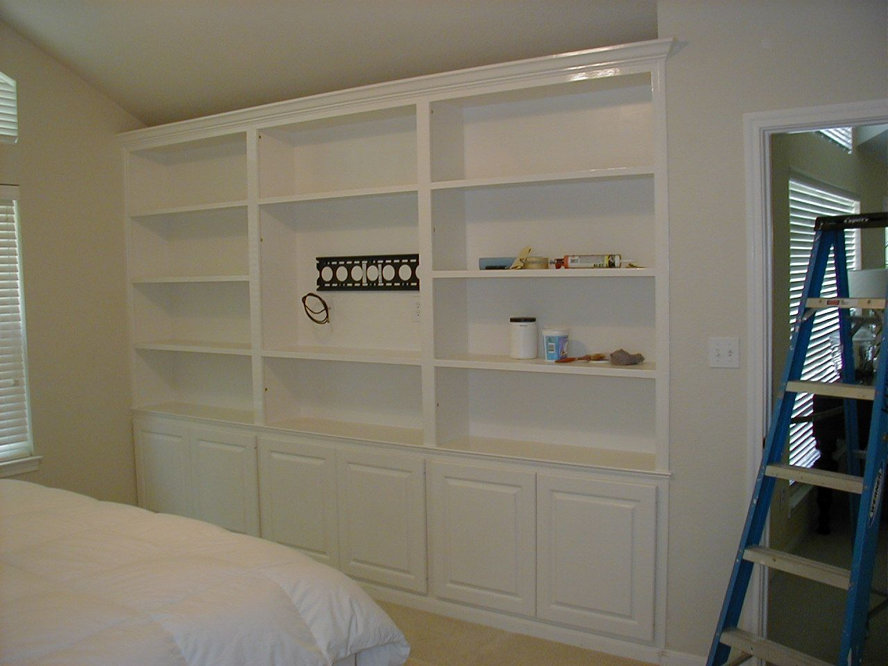 Images Of Wall Mounted Tv With Built In Cabinets
